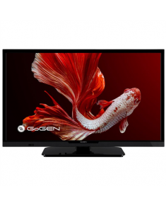 "GoGen LED TV GOGTVH24P452T 24"" (60 cm), HD Ready, 1366 × 768, DVB-C/T/T2, Black"