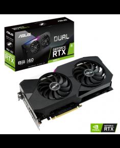 Asus DUAL-RTX3060TI-8G NVIDIA, 8 GB, GeForce RTX 3060 TI, GDDR6, PCI Express 4.0, Processor frequency 1665 MHz, HDMI ports quantity 2