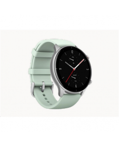 Amazfit GTR 2e Smart watch, GPS (satellite), AMOLED Display, Touchscreen, Heart rate monitor, Activity monitoring 24/7, Waterproof, Bluetooth, Matcha Green