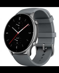 Amazfit GTR 2e Smart watch, GPS (satellite), AMOLED Display, Touchscreen, Heart rate monitor, Activity monitoring 24/7, Waterproof, Bluetooth, Slate Grey