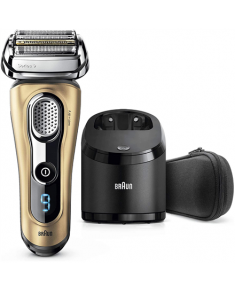Braun Series 9 Shaver 9299cc Operating time (max) 50 min, Lithium Ion, Number of shaver heads/blades 4, Golden, Cordless, Wet & Dry