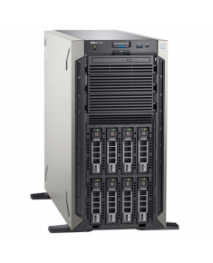 """Dell PowerEdge T340 Tower, Intel Xeon, E-2234, 3.6 GHz, 8 MB, 8T, 4C, UDIMM DDR4, 2666 MHz, No RAM, No HDD, Up to 8 x 3.5"""", Hot-swap hard drive bays, PERC H330, Dual, Hot-plug, Power supply 495 W, iDRAC9 Express, No Rails, No OS, Warranty Basic Onsite 36 month(s)"""