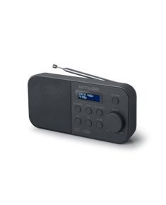 Muse Alarm function, M-109DB, Portable radio, Black