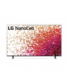"LG 65NANO753PA 65"" (164 cm), Smart TV, WebOS, 4K UHD Nanocell, 3840 x 2160, Wi-Fi, DVB-T/T2/C/S/S2, Black"