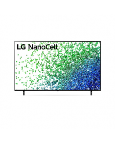 "LG 50NANO803PA  50"" (127 cm), Smart TV, WebOS, 4K UHD Nanocell, 3840 x 2160, Wi-Fi, DVB-T/T2/C/S/S2, Black"