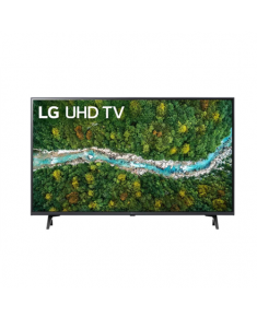 """LG 43UP77003LB 43"""" (109 cm), Smart TV, WebOS, 4K UHD, 3840 x 2160, Wi-Fi, DVB-T/T2/C/S/S2, Dark gray"""