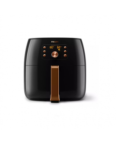 Philips Premium Airfryer XXL HD9867/90 Power 2200 W, Capacity 7.3 L, Smart Sensing Technology, Black