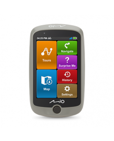 """Mio Cyclo Discover 8.9 cm (3.5""""); 320 x 480, GPS (satellite), Maps included"""