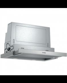 Bosch Hood Serie 4 DFS067A51 Telescopic, Energy efficiency class A, Width 60 cm, 399 m³/h, Push Buttons, LED, Silver