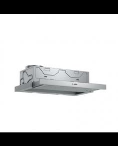 Bosch Hood Serie 4 DFM064A53 Telescopic, Energy efficiency class A, Width 60 cm, 270 m³/h, Push Buttons, LED, Silver