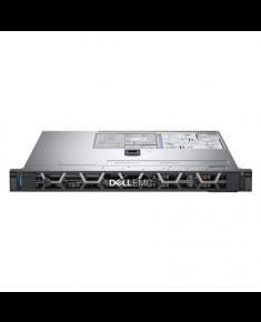 "Dell PowerEdge R340 Rack (1U), Intel Xeon, E-2244G, 3.8 GHz, 8 MB, 8T, 4C, UDIMM DDR4, 2666 MHz, No RAM, No HDD, Up to 4 x 3.5"", Hot-swap hard drive bays, PERC H330, Dual, Hot Plug, Power supply 350 W, iDRAC9 Basic, Sliding Rails, No OS, Warranty Basic Onsite 36 month(s)"