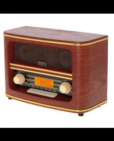 Adler Retro Radio AD 1187 Display LCD, AUX in, Wooden, Alarm function