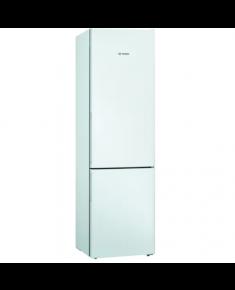 Bosch Refrigerator KGV39VWEA Energy efficiency class E, Free standing, Combi, Height 201 cm, No Frost system, Fridge net capacity 249 L, Freezer net capacity 94 L, 39 dB, White