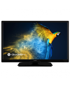 "GoGen LED Smart TV GOGTVH24M506STWEB 24"" (60 cm), Smart TV, Own OS, HD Ready, 1366 × 768, Wi-Fi, DVB-C/T/T2/S2, Black"