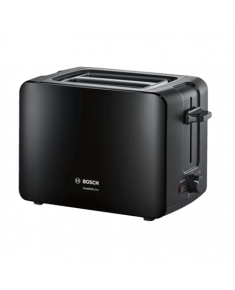 Bosch Toaster ComfortLine TAT6A113 Power 1090 W, Number of slots 2, Housing material Plastic, Black