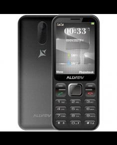 "Allview M20 Luna Black, 2.8 "", 240 x 320 pixels, 32 MB, Dual SIM, micro-SIM and nano-SIM, Bluetooth, Built-in camera, Main camera 1.3 MP, 1750 mAh"