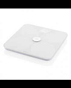 ETA Personal scale Vital Pure 7781 90000 Body analyzer, Maximum weight (capacity) 180 kg, Accuracy 100 g, Body Mass Index (BMI) measuring, White