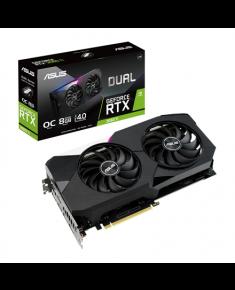 Asus DUAL-RTX3060TI-O8G-V2 LHR version NVIDIA, 8 GB, GeForce RTX 3060 TI, GDDR6, PCI-E 4.0, HDMI ports quantity 2, Memory clock speed 14000 MHz