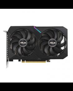 Asus DUAL-RTX3060TI-8G-MINI-V2 LHR version NVIDIA, 8 GB, GeForce RTX 3060 TI, GDDR6, PCI Express 4.0, HDMI ports quantity 1, Memory clock speed 14000 MHz
