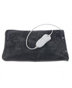 Adler Electric heating blanket AD 7433 Number of heating levels 3, Number of persons 1, Washable, Remote control, Outer fabric: fleece; Inner fabric: PVC, 80 W, Grey