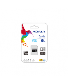 A-DATA 16GB Premier microSDHC UHS-I U1 Card (Class 10) with 1 Adapter, retail
