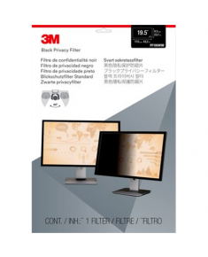 "3M PF195W9B Privacy Filter for LCD Monitor 19.5"" Black, 433 x 237 mm"