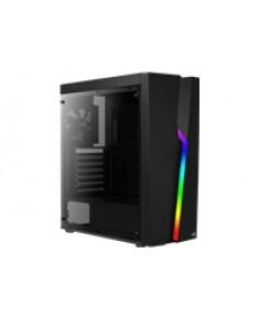 AEROCOOL AEROPGSBOLT-BK-RGB PC case ATX
