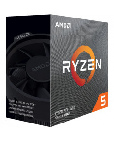 AMD CPU Desktop Ryzen 5 6C/6T 3500X (3.6/4.1 Boost GHz,35MB,65W,AM4) box, with Wraith Stealth cooler