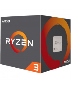 AMD CPU Desktop Ryzen 3 4C/8T 3100(3.9GHz,18MB,65W,AM4) box, with Wraith Stealth cooler