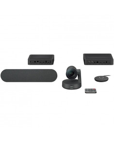 LOGITECH Rally Ultra-HD ConferenceCam - BLACK - USB - PLUGC - EMEA - EU