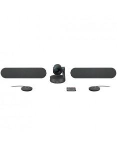 LOGITECH RALLY PLUS Ultra-HD ConferenceCam - BLACK - USB - PLUGC - EMEA - DUAL SPEAKER EU
