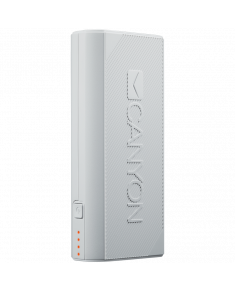 CANYON Power bank 4400mAh, built-in Lithium-ion battery, output 5V2A, input auto-adjust 5V1A-2A, White