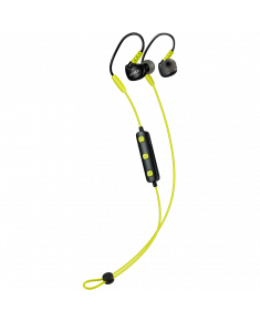 CANYON Bluetooth sport earphones with microphone, cable length 0.3m, 18*25*22mm, 0.028kg, Lime