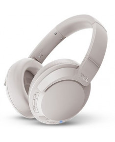 TCL Over-Ear Bluetooth Headset, HRA, slim fold, Frequency of response: 9-40K, Sensitivity: 100 dB, Driver Size: 40mm, Impedence: 24 Ohm, Acoustic system: closed, Max power input: 50mW, Bluetooth (BT 5.0) & 3.5mm jack, Hi-Res Audio,Color Cement Gray