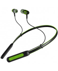 Wireless In-ear stereo earbuds with microphone SVEN E-235B, black-green, SV-017903