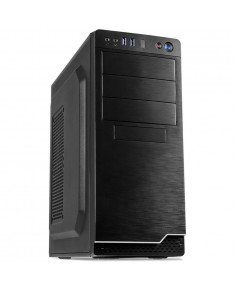 Chassis INTER-TECH IT-5916 Midi Tower, ATX, 2 x USB 3.0, Card reader, PSU 500W, Black