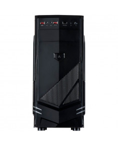 Chassis INTER-TECH B-30 Black Midi Tower, ATX, 2xUSB2.0, HD-audio, PSU optional