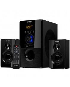 Bluetooth speakers SVEN MS-2050, black (55W, FM, USB/SD, Display, RC, Bluetooth), SV-013233