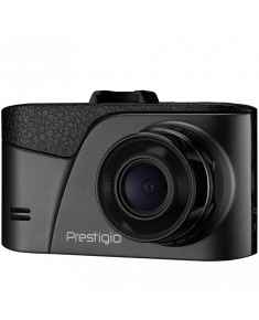 Car Video Recorder PRESTIGIO RoadRunner 345 (FHD 1920x1080@24fps,3.0 inch screen, NTK96223, 1 MP CMOS GC1043 image sensor, 12 MP camera, 120° Viewing Angle, Mini USB, 180 mAh, Automatic Night Mode, Motion Detection, G-sensor, Cyclic Recording, Black, Plastic)