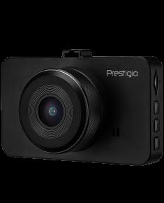 Car Video Recorder PRESTIGIO RoadRunner 420 (FHD 1920x1080@30fps,3.0 inch screen, AC5401B, 2 MP CMOS GC2023 image sensor, 10 MP camera, 120° Viewing Angle, Micro USB, 180 mAh, Automatic Night Mode, Motion Detection, G-sensor, Cyclic Recording, Black, Plastic)