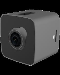 Car Video Recorder PRESTIGIO RoadRunner CUBE (FHD 1920x1080@30fps, 1.5 inch screen, 2 MP CMOS SONY IMX323 image sensor, 2 MP camera, 140° Viewing Angle, Micro USB, 150 mAh, WiFi, Motion Detection, G-sensor, Cyclic Recording, silver/black, Metal+Plastic)
