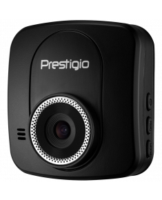 Car Video Recorder PRESTIGIO RoadRunner 535W (WQHD 2560x1440@30fps, 2.0 inch screen, MSC8328Q, 4 MP CMOS OV4689 image sensor, 12 MP camera, 140° Viewing Angle, Micro USB, 4x zoom, 240 mAh, WiFi, Automatic Night Mode, Motion Detection, G-sensor, Cyclic Recording, HDR, black, Plastic)