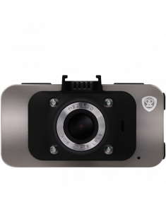 Car Video Recorder PRESTIGIO RoadRunner 545GPS (FHD 1920x1080@30 fps, 2.7 inch screen, NTK96650, 12 MP, 170˚ viewing angle, HD-port, mini USB, 4x zoom, 130 mAh, GPS, Night Vision, EIS, IR, HDR, Gun Metal colour)