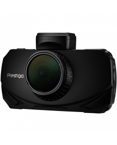 Car Video Recorder PRESTIGIO RoadRunner 600GPSDL (Front: WQHD 2560x1440@30fps; FHD 1920x1080@60fps Rear: FHD 1920x1080@30fps, 3.0 inch screen, NT96663, 2 MP CMOS SONY IMX291 image sensor, 120° Viewing Angle, Micro USB, 900mAh, GPS, Radar POI, Automatic Night Mode, Motion Detection, G-sensor, Cyclic Recording, EIS, IR, WDR, Black, Plastic)