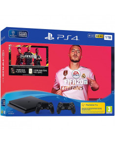 Sony Playstation 4 1TB Black + FIFA 20 - (EU)