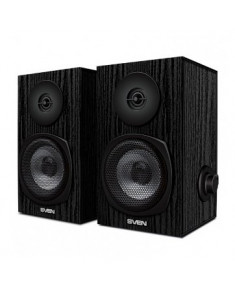 2.0 speakers SVEN SPS-575, black, USB, power output 2x3W (RMS), SV-016166
