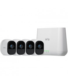 Arlo Pro System - Rechargeable 3 Wire-Free HD Security Camera with Audio and Siren