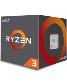 AMD CPU Desktop Ryzen 3 4C/4T 1200 (3.1/3.4GHz Boost,10MB,65W,AM4) box, with Wraith Stealth cooler
