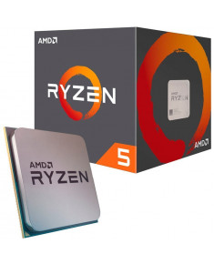 AMD CPU Desktop Ryzen 5 6C/12T 1600 (3.4/3.6GHz Boost,19MB,65W,AM4) box, with Wraith Stealth cooler