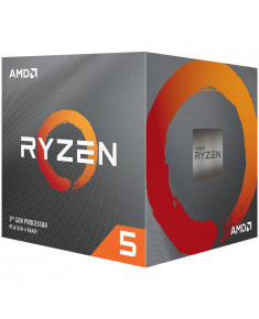 AMD CPU Desktop Ryzen 5 4C/8T 3400G (4.2GHz,6MB,65W,AM4) box, RX Vega 11 Graphics, with Wraith Spire cooler